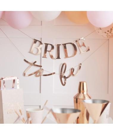 """Guirlande """"Bride to be"""""""