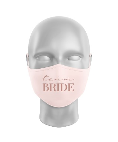Masque Barriere Team Bride