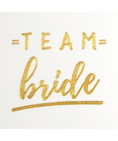 "Tatouage temporaire EVJF ""Team Bride"""