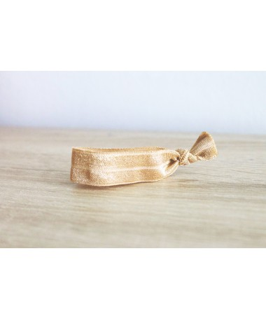 Bracelet Elastique Doré