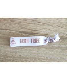 Bracelet Elastique Bride Tribe Tipi Blanc