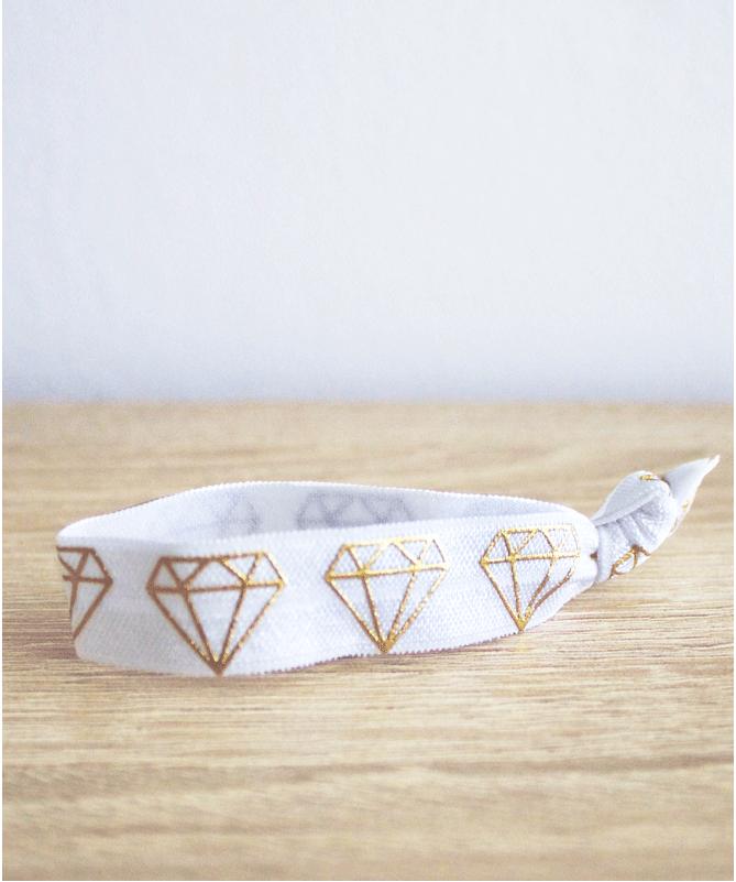 Bracelet Elastique Diamants