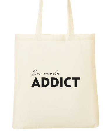 Tote Bag En mode addict