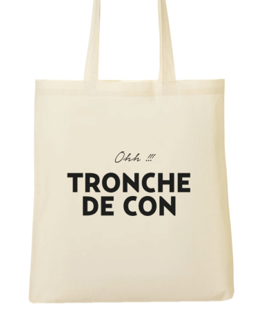 Tote Bag Citation Marseille Tronche de con