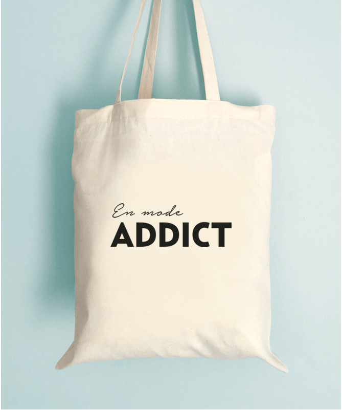 Tote Bag En mode addict