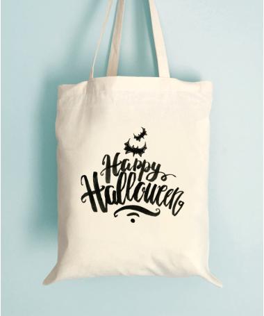 Tote Bag Happy Halloween