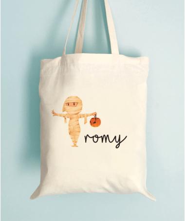 Tote Bag Halloween Enfant Momie