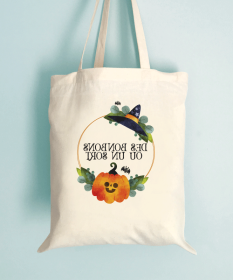 Tote Bag Enfant Cercle Bonbons ou sort