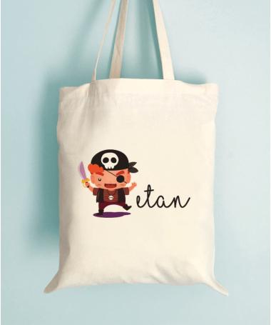 Tote Bag Enfant Pirate d'Halloween