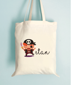 Tote Bag Enfant Pirate d'Halloween