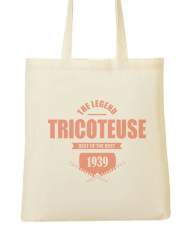 Tote bags Mamie tricoteuse, the Legend !