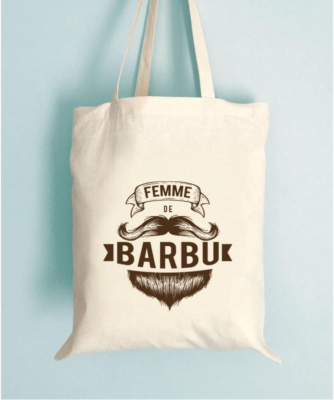 Tote Bag - Femme de barbu