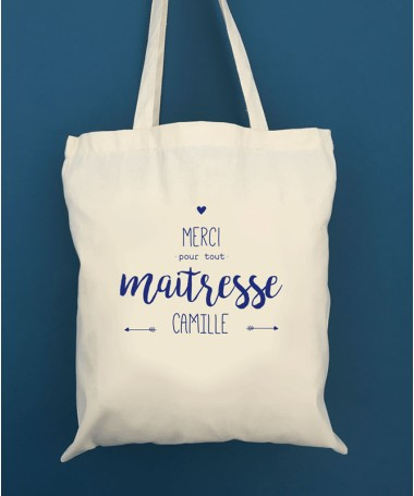 Tote Bag Merci Maitresse - ATSEM- Nounou
