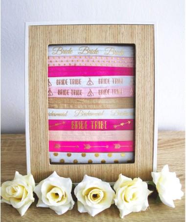 Bracelet Elastique Bride Tribe Tipi Rose