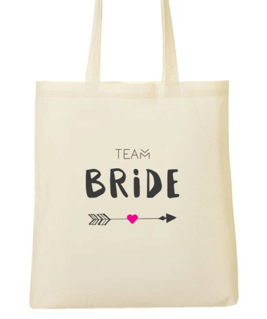 Tote Bag EVJF Team Bride Flèche