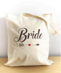 Tote bag Bride