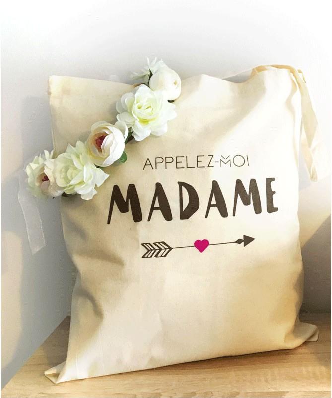 Tote Bag EVJF Appelez-moi Madame !