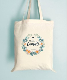 Sac EVJF Tote bag - Arc en fleurs
