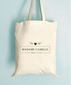 Sac EVJF - Tote bag Madame
