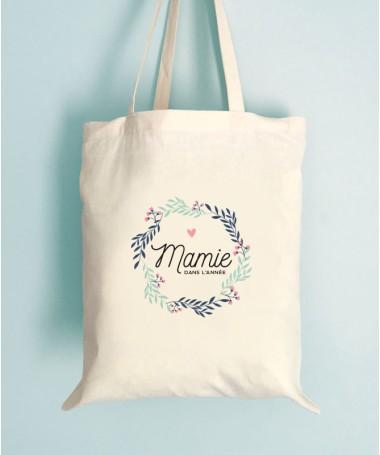 Sac Mamie Couronne fleuri - Tote Bag
