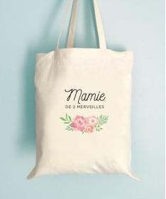 Sac Mamie Fleuri - Tote Bag Merveilles