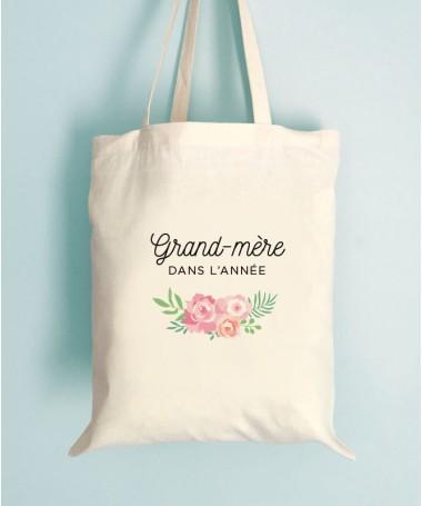 Sac Grand mere Fleuri - Tote Bag