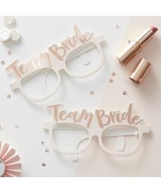 """Lunettes EVJF  """"Team Bride"""" (pack de 8)"""