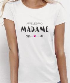 Tee Shirt EVJF Appelez-moi Madame - Future mariée